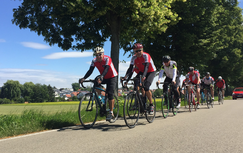 Testfahrt in Rheinhessen